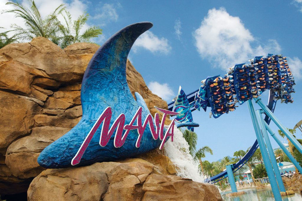 Manta Coaster, SeaWorld Orlando