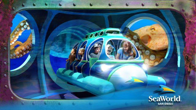 SeaWorld announce new Ocean Explorer to open in 2017