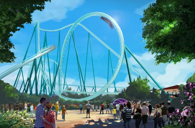 SeaWorld San Diego Announces New Dive Coaster For 2020 thumbnail image